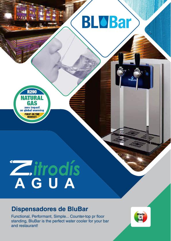 Zitrodís agua - Dispensadores Agua Purificada Blupura - BluBar