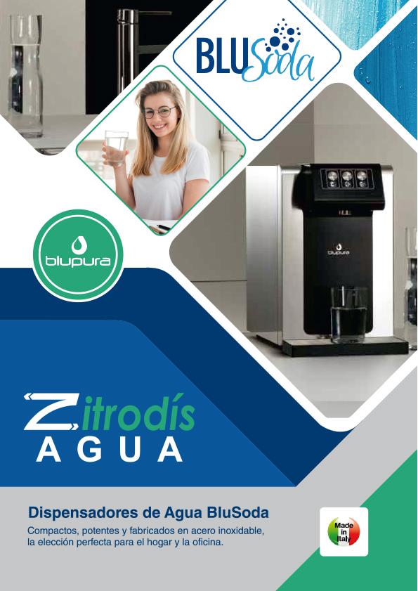 Zitrodís agua - Dispensadores Agua Purificada Blupura - BluSoda
