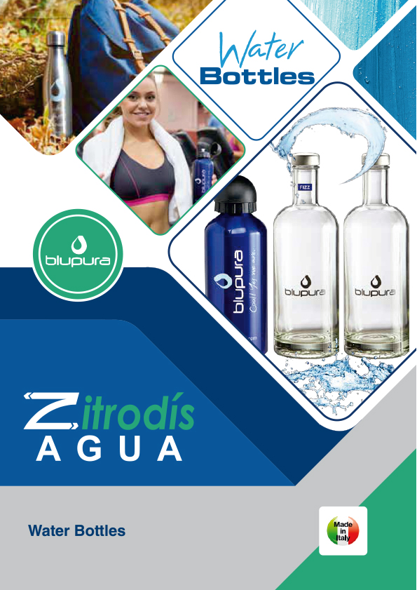Zitrodís agua - Blupura - Bottles