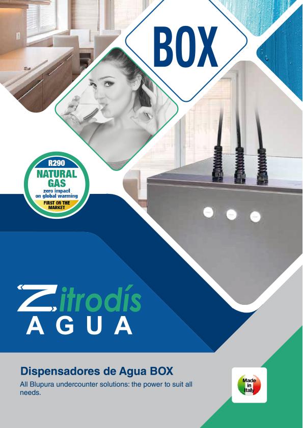 Zitrodís agua - Dispensadores Agua Purificada Blupura - BOX