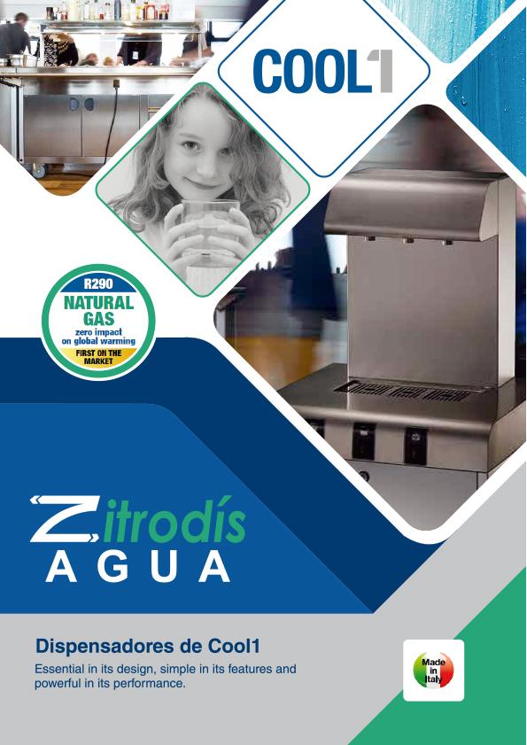 Zitrodís agua - Dispensadores Agua Purificada Blupura - COOL1