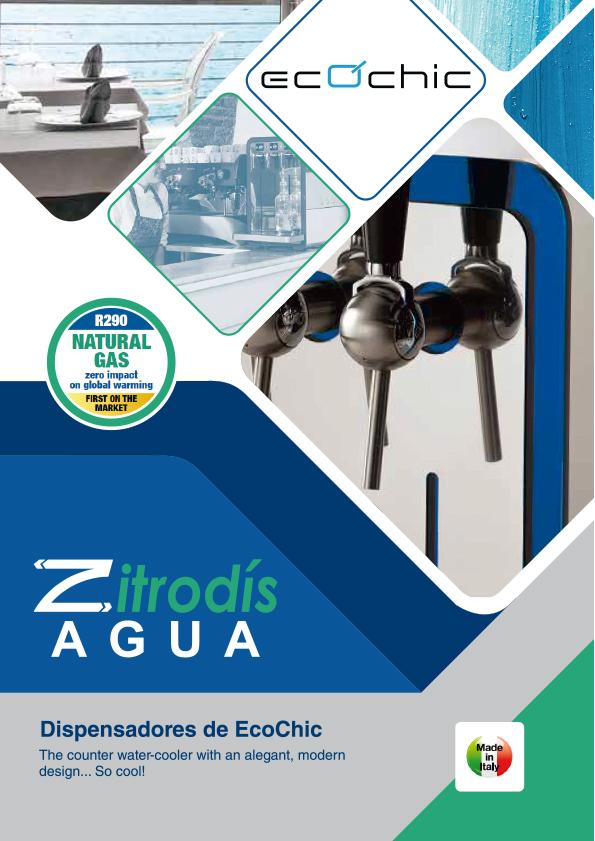 Zitrodís agua - Dispensadores Agua Purificada Blupura - EcoChic