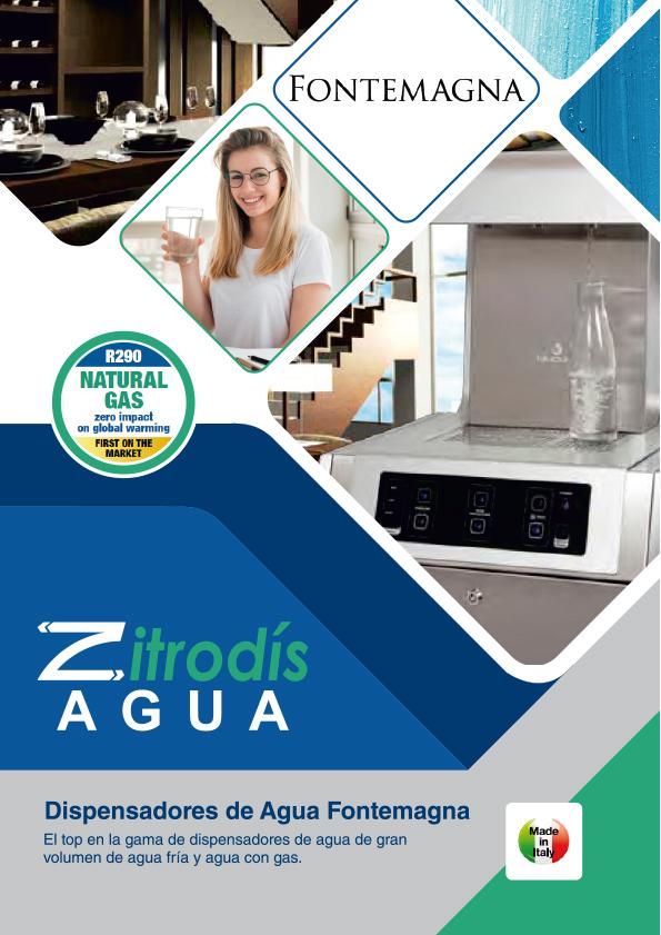 Zitrodís agua - Dispensadores Agua Purificada Blupura - Fontemagna