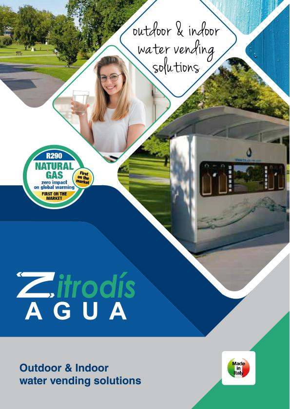 Zitrodís agua - Dispensadores Agua Purificada Blupura - Outdoor & Indoor