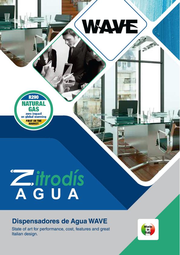Zitrodís agua - Dispensadores Agua Purificada Blupura - WAVE